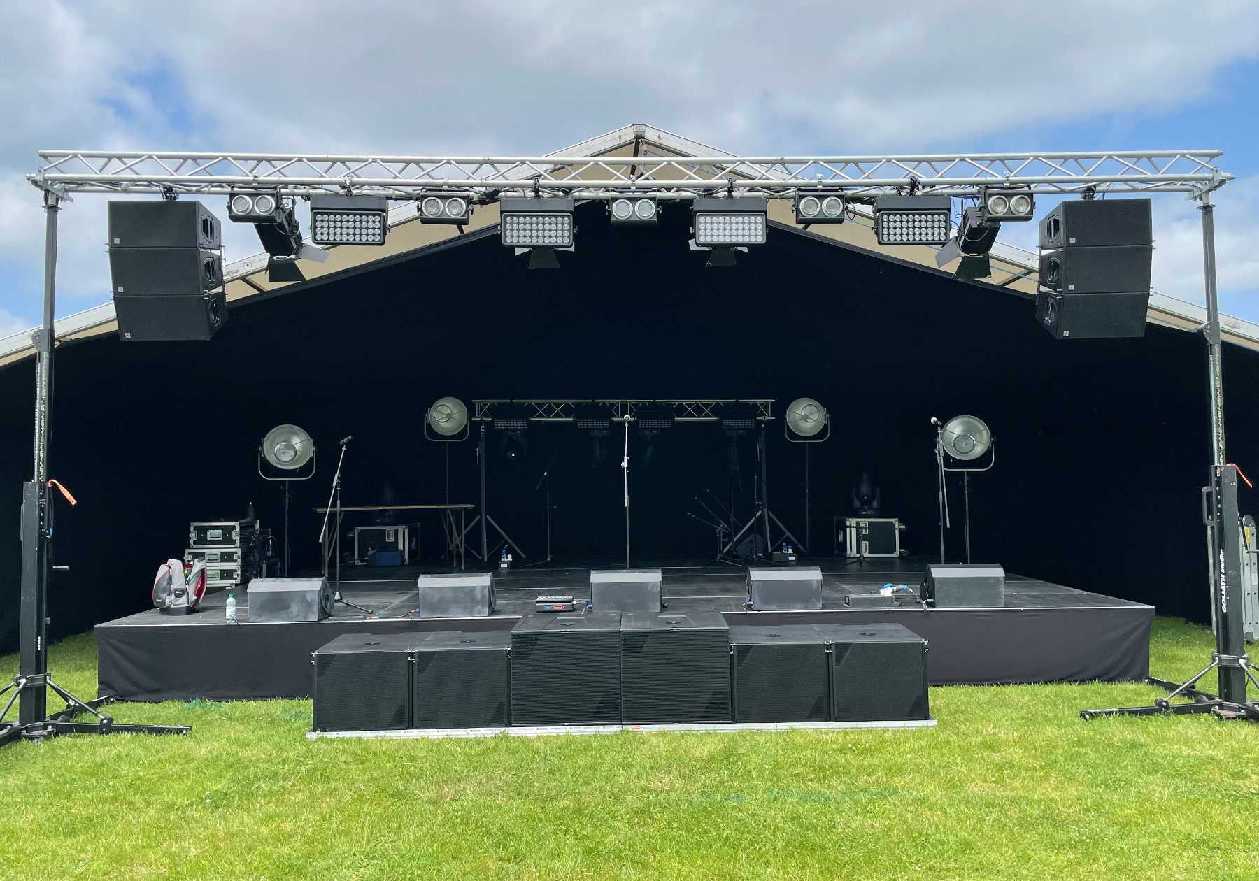 Lighting hire & livestream equipment in South West Wales, Cardiff, Swansea, Newport, Carmarthenshire & Pembrokeshire