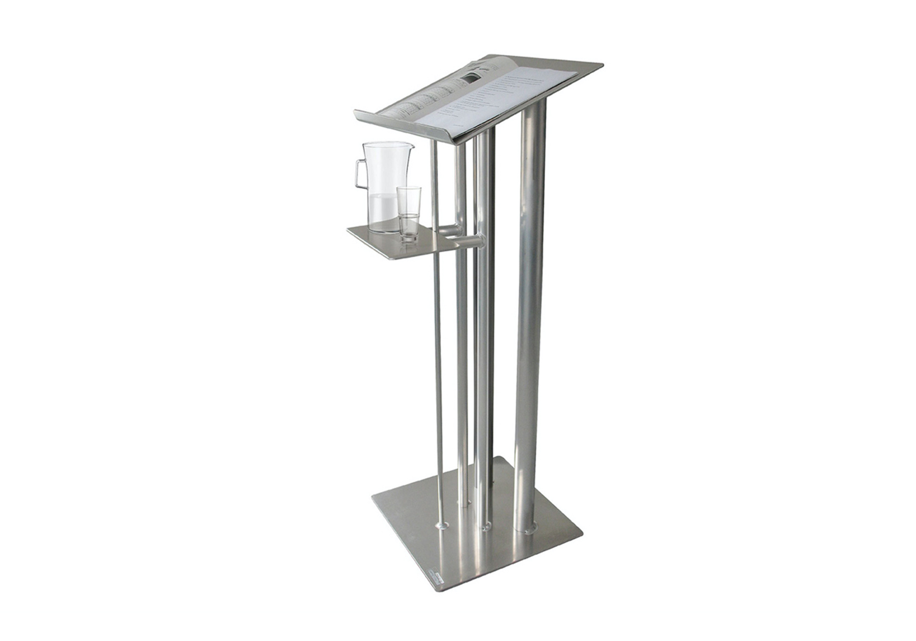 Hire aluminium lecterns, flipcharts & conference equipment in Cardiff, Swansea, Newport, Carmarthenshire, Pembrokeshire, South & West Wales