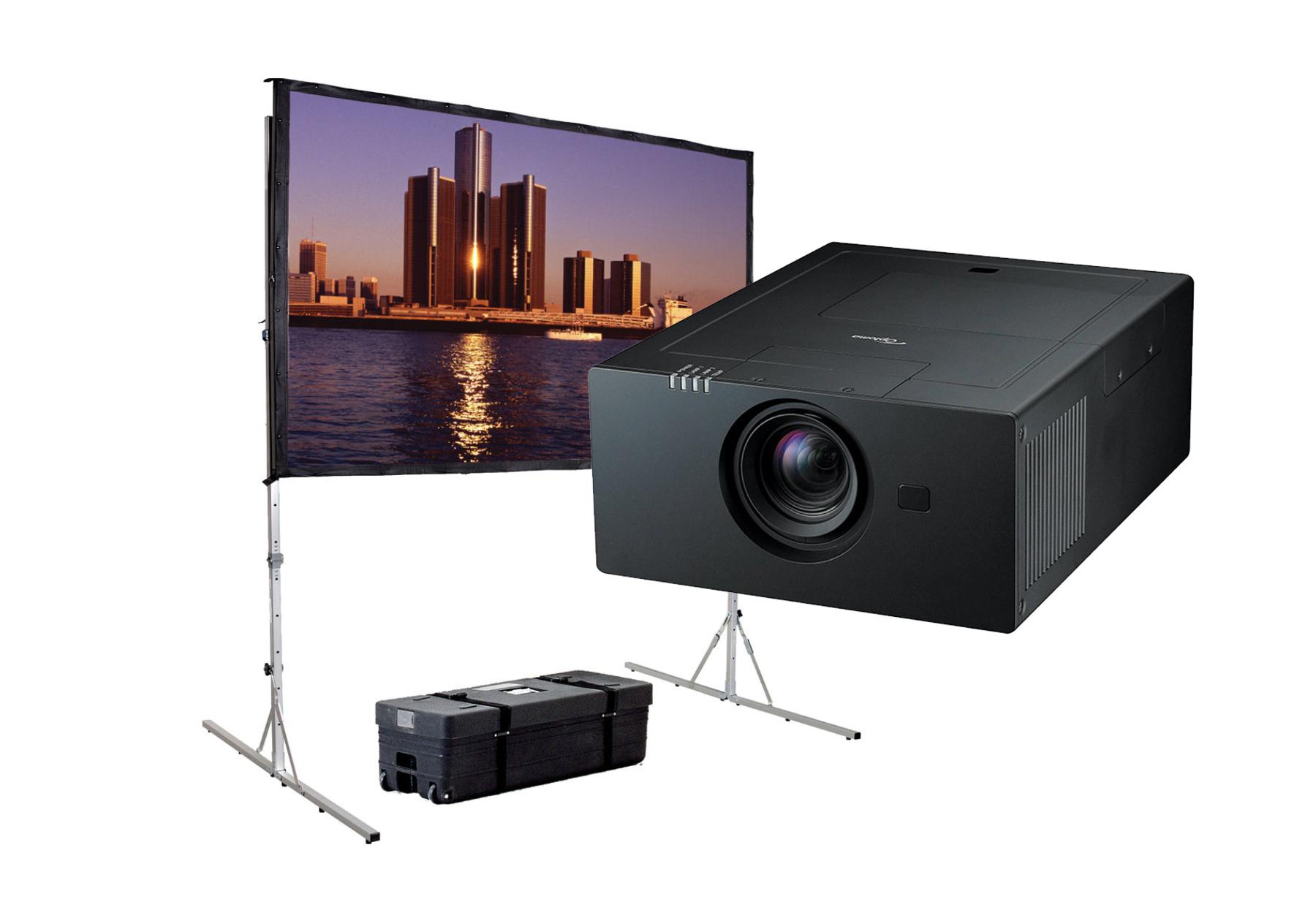 Hire AV equipment, projectors, projector screens, fastfold screens in Cardiff, Swansea, Newport, Carmarthenshire, Pembrokeshire, South & West Wales